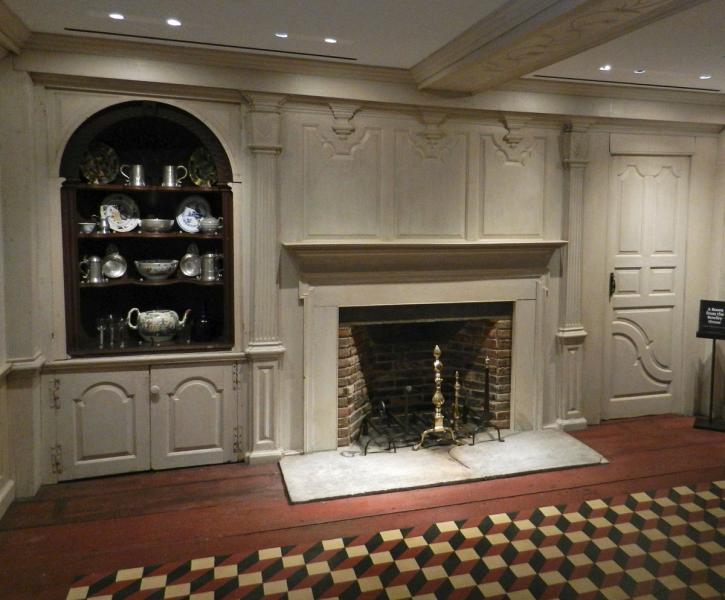 Gilead Room Fireplace Wall