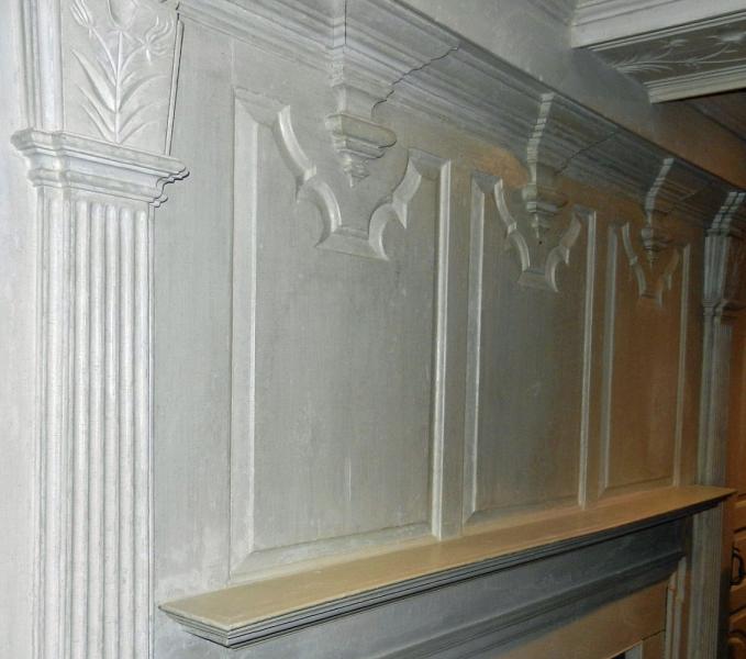 Gilead Room overmantel panels