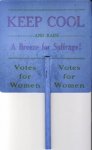 Placard carried by Ella Smith front