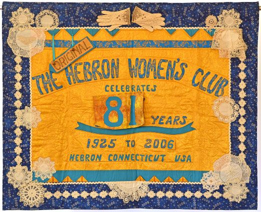 The Hebron Women's Club Quilt