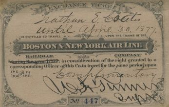 Airline Ticket 1877